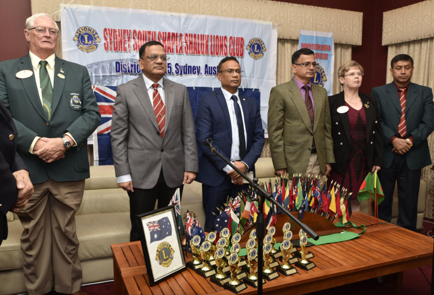 Reception Party for the visiting Bangladeshi Armed Forces Medical Personnel in Sydney